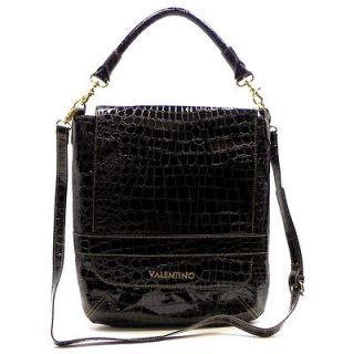New Brown Croco Serendipity Valentino Messenger Bag Cross Body Satchel