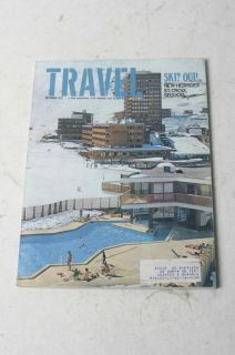 Travel Magazine December 1972 Ski? Oui! New Hebrides St. Croix Sequoia