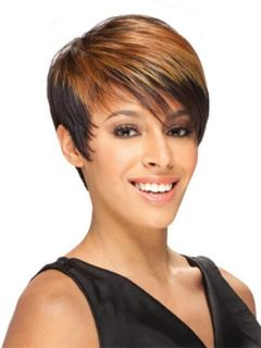 ERICA BY FREETRESS EQUAL SYNTHETIC WIG SHORT HEAT SAFE UP TO 400F