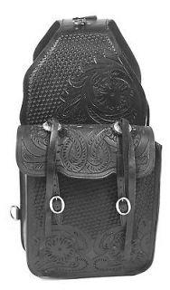 Leather Horse Western Cowboy Heavy Duty Saddl Saddle Bag Trail