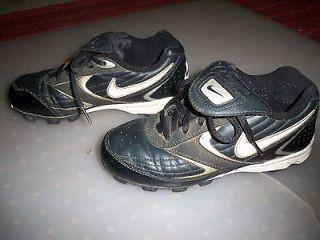 Youth Size 3.5 Nike Soccer, Baseball Cleats