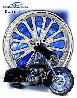 Coastal Moto Raider M109R Chrome Motorcycle Wheels PM