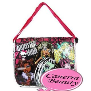 High Lagoona Blue Ghoul Spirit Friends Big Messenger School Bag Tote