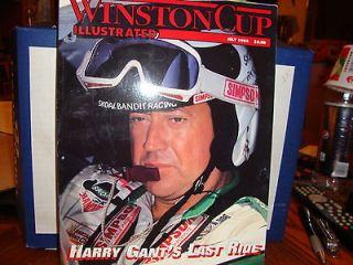 july 1994 winston cup illustrated,harry gants last ride of the skoal