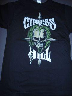 CYPRESS HILL Skull Crossbones Arrows Pot T Shirt **NEW tour concert