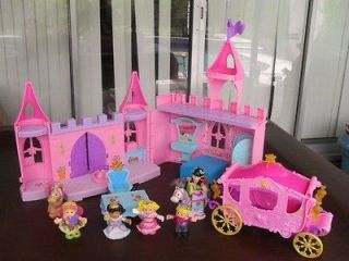 Fisher Price Little People pink Dance n Twirl Palace Castle & Disney