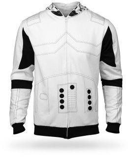 Star Wars Storm Trooper Costume Hoodie W/ Full Hood