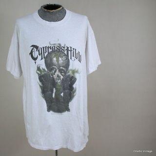 Vtg 90s CYPRESS HILL 1996 Hip Hop Rap Concert Tour t shirt XL Mr