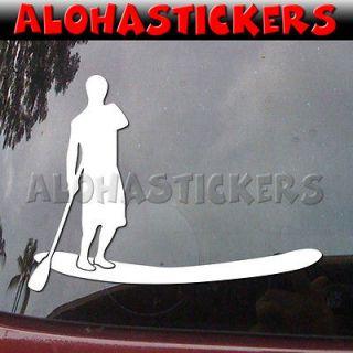 BOARD SUP Hawaii Car Truck Laptop Vinyl Decal Window Sticker H84