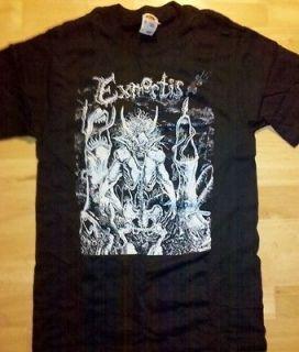EXMORTIS T shirt XL Death metal black Immolation Massacre Incubus