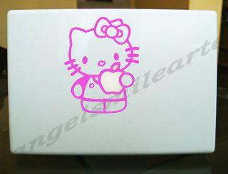 Kitty Pink Sticker for Apple Macbook 13 laptop decal sticker vinyl