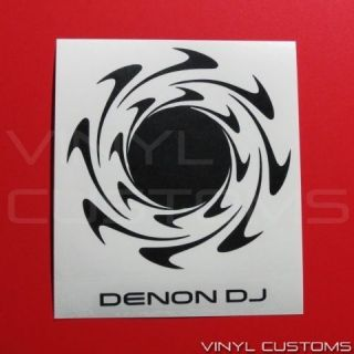 DJ Badtz Maru Disco Scratcher Sanrio Decal Sticker bm6