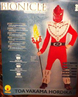 Rubies Lego Bionicle TOA VAKAMA HORDIKA Costume S M 4 6 8 10 New