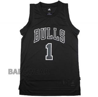 Rare Bulls Derrick Rose XL Adidas Swingman Jersey NBA Chicago Black