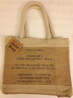 trader joes bag in Clothing, Shoes & Accessories