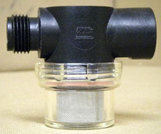 RV MARINE WATER PUMP STRAINER FILTER SHURFLO 255 213