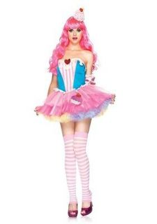 85003 3PC Sugar and Spice Cupcake Sexy Cute Womens Halloween Costume S
