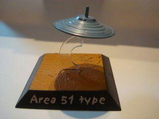 Area 51 UFO Bob Lazar Metal Diecast Model