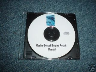 Marine Engine Repair Diesel Ship Motor Boat Course CD