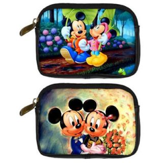 Mouse Minnie Mouse Disney leather digital Camera Case bag Handbags