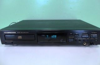 MARANTZ COMPACT DISC PLAYER CD 46 USED WORKS 46U BL 120V 60HZ 8W NO