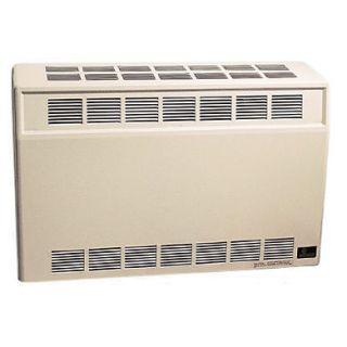 Monterey 3509622 Top Vent Gas Single Side Furnace Wall Heater 35000BTU