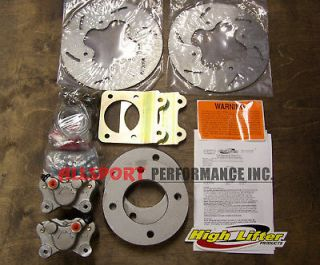 400 FOREMAN 1996 2003 High Lifter Front Disc Brake Conversion Kit