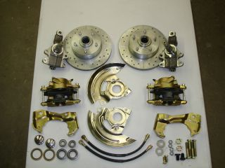 1968 1969 camaro firebird disc brake conversion 2 inch drop spindles