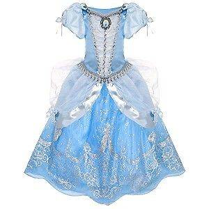 NWT  CINDERELLA DRESS GOWN COSTUME DRESS UP GIRLS