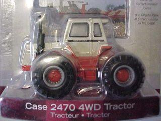 Case IH 2470 4 Wheel Drive Tractor 8 Wheels ERTL 164 & CARD #14649