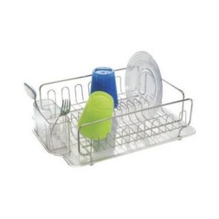InterDesign Forma 2 Lupe # 68980 Stainless Steel Dish Drainer Rack II