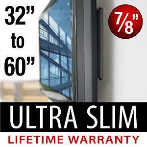 Flat Screen Ultra Low Profile Wall Mount LCD LED PLASMA TV 32 37 42