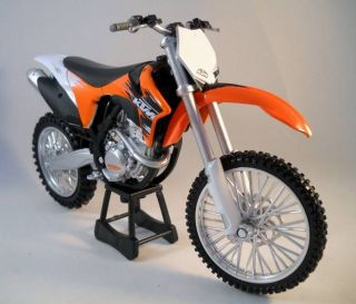 KTM 350 SX F Dirt Bike Motorcycle Diecast DieCast with Plastic Moto