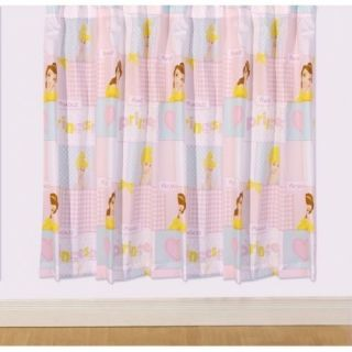 Disney Princess Best Wishes 66 X 72 Drop Curtains Pair Matches Duvet