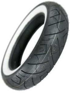Shinko SR777 White Wall Rear Motorcycle Tire Size 130/90 16