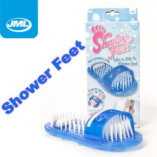 JML Shower Feet Foot Washes Clean Scrubs Cleaner As Seen On TV Easy
