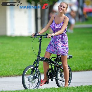 Folding Prodeco 2012 Mariner Sport 36V 250W LiFEPO4 Electric Bicycle