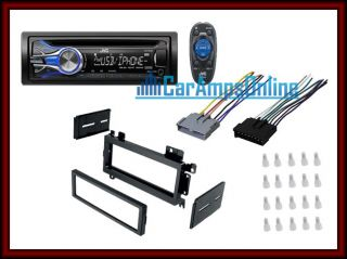 RADIO W/ DASH KIT & WIRING HARNESS INSTALL KIT ★ (Fits Dodge Ram