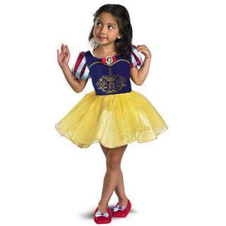 New Disney Princess Snow White Dress Up Dress Toddler Girls Costume