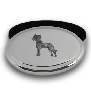 CHINESE CRESTED Dog Silver Jewelry Keepsake Trinket Box