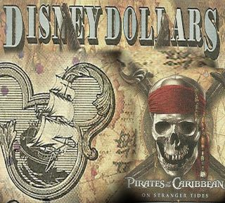 disney dollars in Disney Dollars