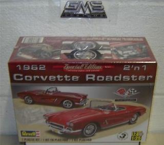 Revell Model kit 4277 1/25 1962 Corvette Roadster 2n1 S/E IN STOCK GMS
