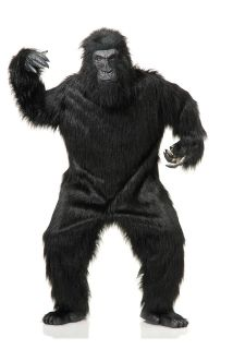 GREAT APE DELUXE GORILLA KING KONG ADULT HALLOWEEN COSTUME ONE SIZE