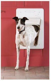 PetSafe LARGE SmartDoor Electronic Pet Dog Door Up100lb