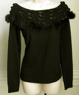 Dolce Cabo   Womens Long Sleeve Sweater, New, $130