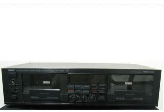 Yamaha KX W602 Dual Cassette Deck