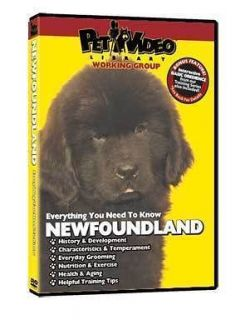 NEWFOUNDLAND ~ Puppy ~ Dog Care & Training DVD + BONUS