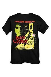 ALICE COOPER Psycho Drama T Shirt **NEW band concert
