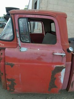 57 58 59 60 FORD PICKUP PANEL TRUCK DOOR SHELL LEFT FRONT DRIVERS SIDE
