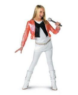 Hannah Montana Miley Cyrus Pop Star Child Costume 7100
